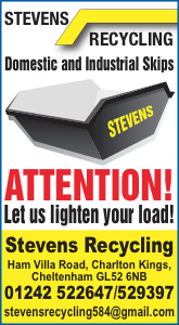 Stevens Recycling. Domestic and Industrial skips in Gloucestershire