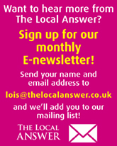 Monthly E-Newsletter sign up